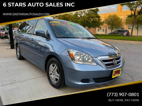 2006 Honda Odyssey for sale at 6 STARS AUTO SALES INC in Chicago IL