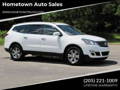 2016 Chevrolet Traverse for sale at Hometown Auto Sales - SUVS in Jasper AL