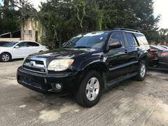 2007 Toyota 4Runner for sale at Popular Imports Auto Sales in Gainesville FL