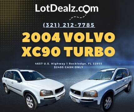 2004 Volvo XC90 for sale at ROCKLEDGE in Rockledge FL