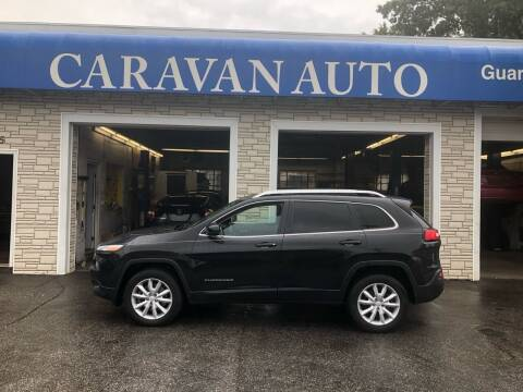 2014 Jeep Cherokee for sale at Caravan Auto in Cranston RI