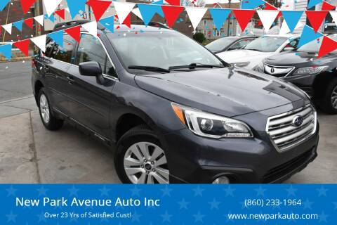 2015 Subaru Outback for sale at New Park Avenue Auto Inc in Hartford CT