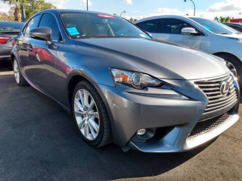 2016 Lexus IS 200t for sale at Empire Automotive Group Inc. in Orlando FL