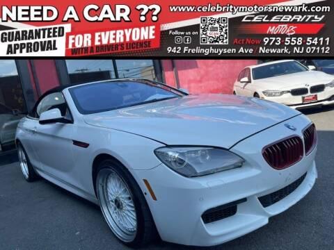 2013 BMW 6 Series for sale at Celebrity Motors in Newark NJ