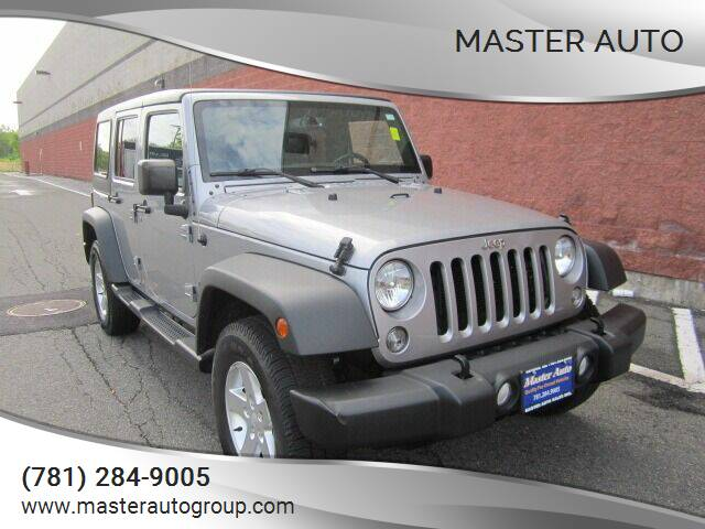 2015 Jeep Wrangler Unlimited for sale at Master Auto in Revere MA