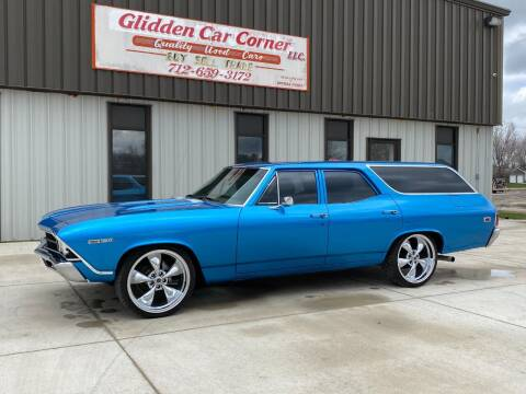 1969 Chevrolet Chevelle for sale at GLIDDEN CAR CORNER in Glidden IA