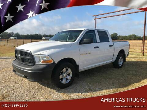 2012 RAM Ram Pickup 1500 for sale at Americas Trucks in Jones OK