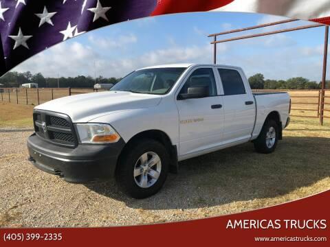 2012 RAM Ram Pickup 1500 for sale at Americas Trucks in Jones OK
