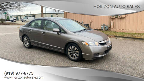 2009 Honda Civic for sale at Horizon Auto Sales in Raleigh NC