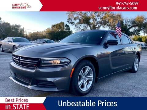 2015 Dodge Charger for sale at Sunny Florida Cars in Bradenton FL