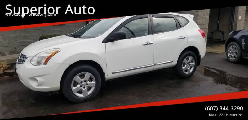2011 Nissan Rogue for sale at Superior Auto in Cortland NY