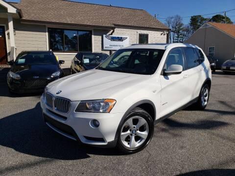 2011 BMW X3 for sale at M & A Motors LLC in Marietta GA