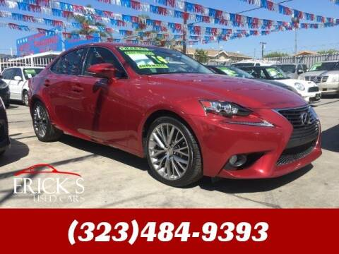 2014 Lexus IS 250 for sale at Ericks Used Cars in Los Angeles CA