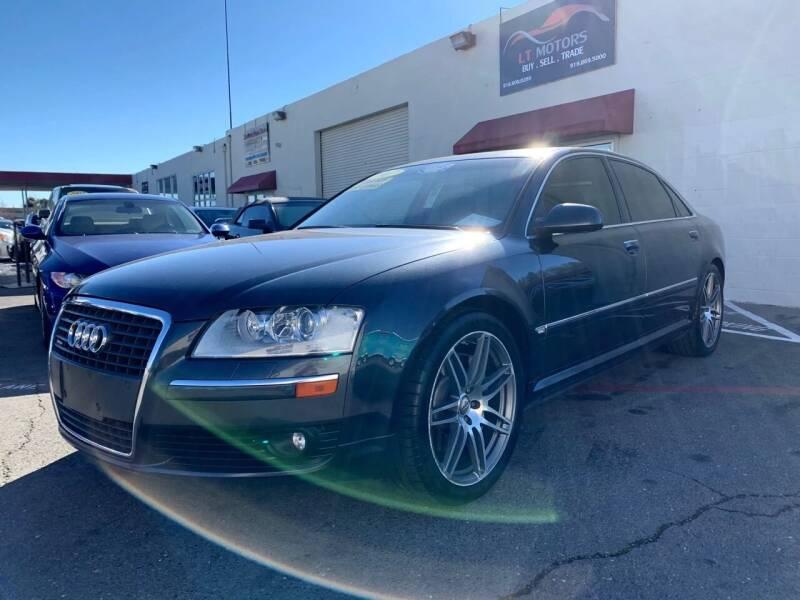 2007 Audi A8 L for sale at LT Motors in Rancho Cordova CA