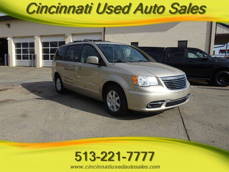 2012 Chrysler Town and Country for sale at Cincinnati Used Auto Sales in Cincinnati OH