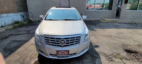 2014 Cadillac XTS for sale at Alpha Motors in Chicago IL