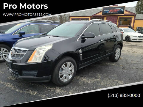 2010 Cadillac SRX for sale at Pro Motors in Fairfield OH