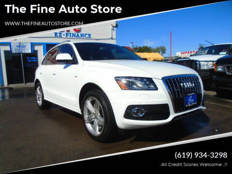 2011 Audi Q5 for sale at The Fine Auto Store in Imperial Beach CA