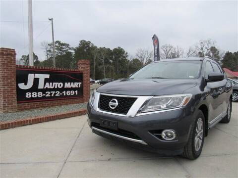 2014 Nissan Pathfinder for sale at J T Auto Group in Sanford NC