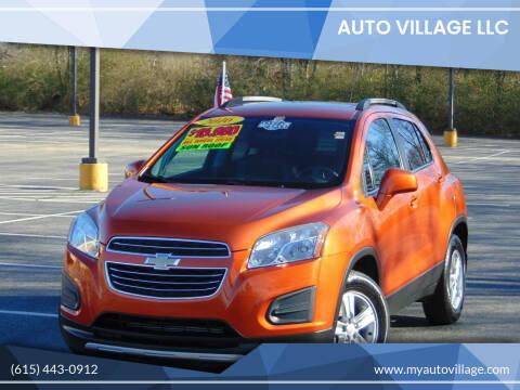 2016 Chevrolet Trax for sale at AUTO VILLAGE LLC in Lebanon TN