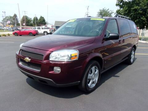 2007 Chevrolet Uplander for sale at Ideal Auto Sales, Inc. in Waukesha WI