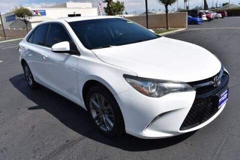 2016 Toyota Camry for sale at DIAMOND VALLEY HONDA in Hemet CA