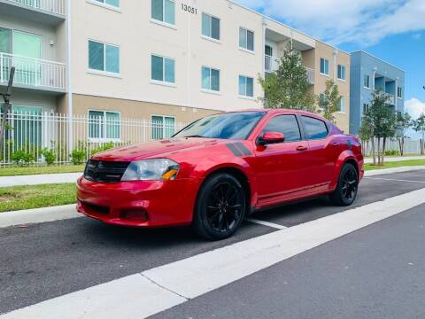 2013 Dodge Avenger for sale at LA Motors Miami in Miami FL