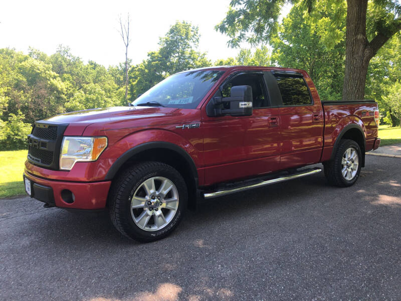 2010 Ford F-150 for sale at Jim's Hometown Auto Sales LLC in Byesville OH