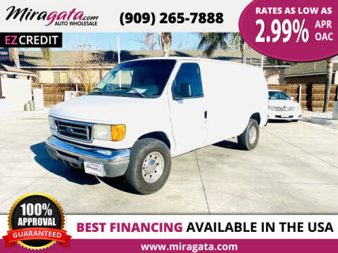 2006 Ford E-Series Cargo for sale at Miragata Auto in Bloomington CA