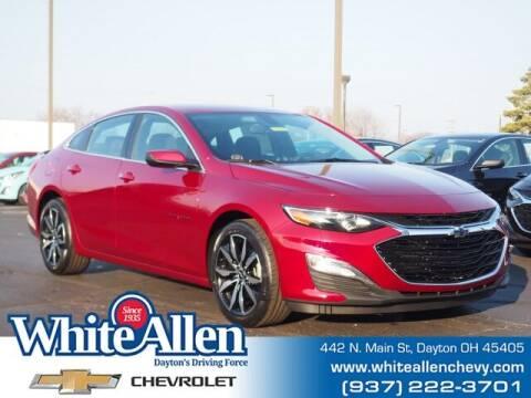 2021 Chevrolet Malibu for sale at WHITE-ALLEN CHEVROLET in Dayton OH