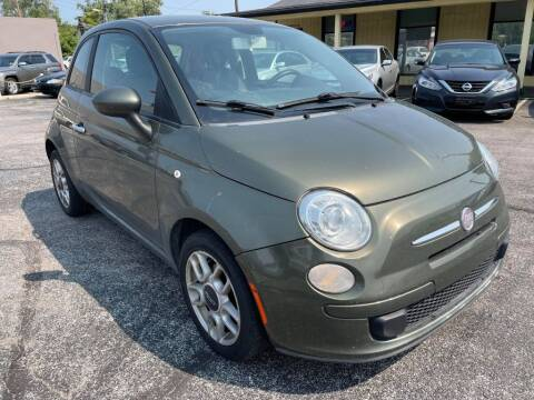 2012 FIAT 500 for sale at speedy auto sales in Indianapolis IN