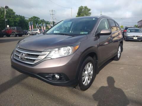 2012 Honda CR-V for sale at P J McCafferty Inc in Langhorne PA
