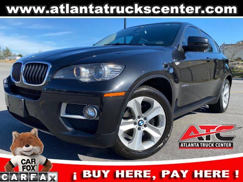 2013 BMW X6 for sale at ATLANTA TRUCK CENTER LLC in Brookhaven GA
