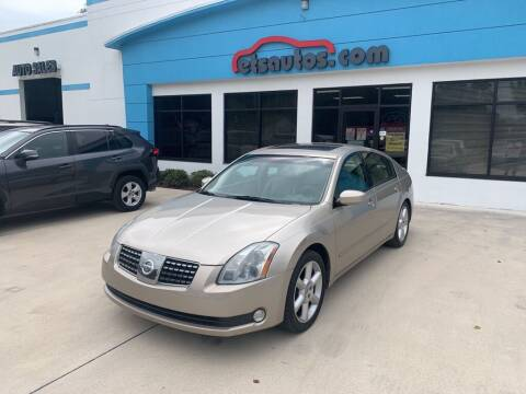 2006 Nissan Maxima for sale at ETS Autos Inc in Sanford FL