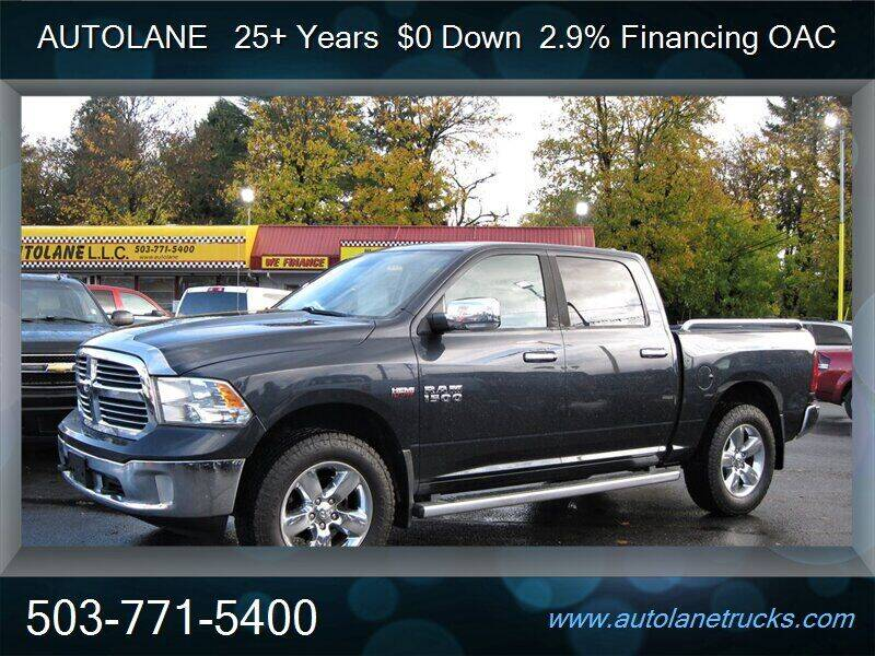 2013 RAM Ram Pickup 1500 for sale at Auto Lane in Portland OR