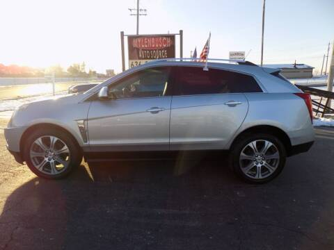 2012 Cadillac SRX for sale at MYLENBUSCH AUTO SOURCE in O` Fallon MO