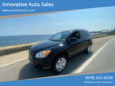 2012 Toyota RAV4 for sale at Innovative Auto Sales in North Hampton NH