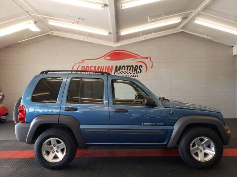 2003 Jeep Liberty for sale at Premium Motors in Villa Park IL