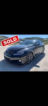 2008 Lexus IS F for sale at John 3:16 Motors in San Antonio TX
