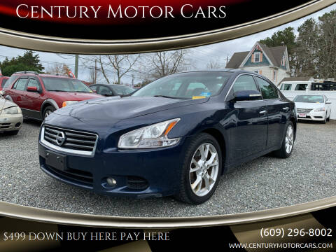 2014 Nissan Maxima for sale at Century Motor Cars in West Creek NJ