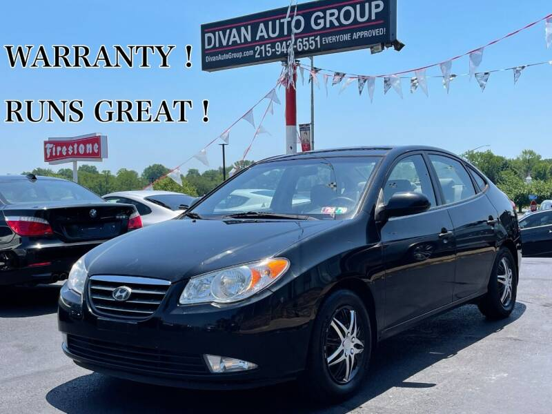 2009 Hyundai Elantra for sale at Divan Auto Group in Feasterville PA