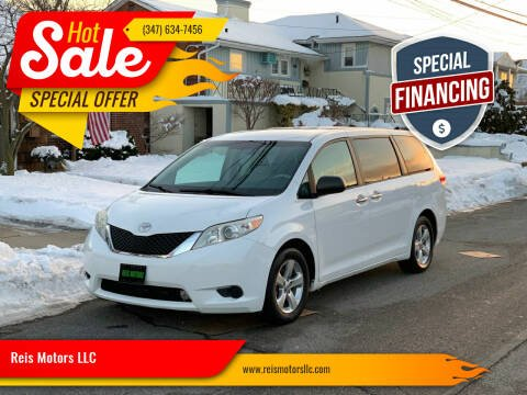 2013 Toyota Sienna for sale at Reis Motors LLC in Lawrence NY