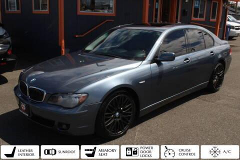 2006 BMW 7 Series for sale at Sabeti Motors in Tacoma WA