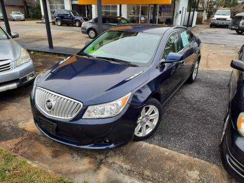 2010 Buick LaCrosse for sale at PIRATE AUTO SALES in Greenville NC