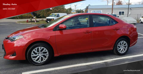 2019 Toyota Corolla for sale at Healey Auto in Rochester NH