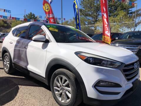 2016 Hyundai Tucson for sale at Duke City Auto LLC in Gallup NM