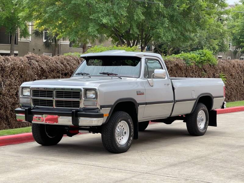 1991 Dodge RAM 250 for sale at RBP Automotive Inc. in Houston TX