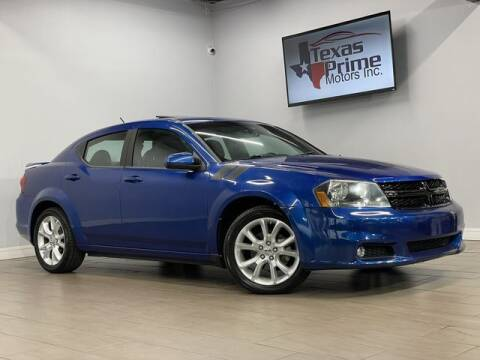 2013 Dodge Avenger for sale at Texas Prime Motors in Houston TX