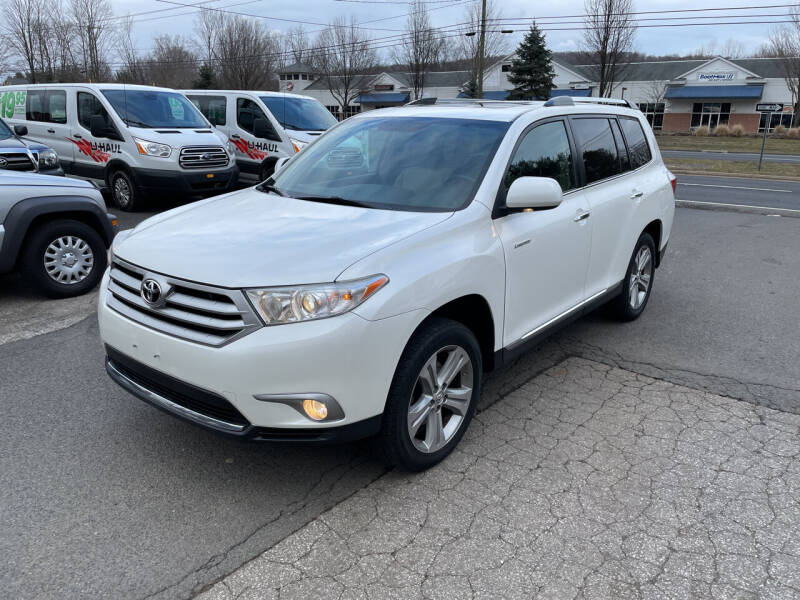 2013 Toyota Highlander for sale at Candlewood Valley Motors in New Milford CT