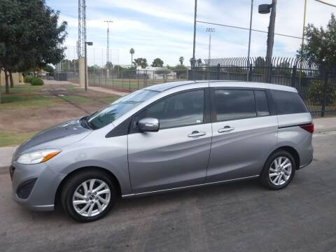 2015 Mazda MAZDA5 for sale at J & E Auto Sales in Phoenix AZ